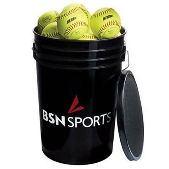 "Picture of Bucket w/ Softballs 11"""