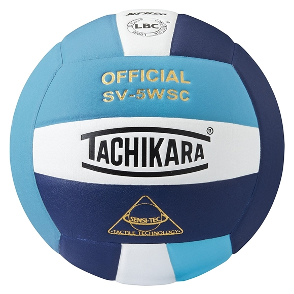 Picture of Sensi-Tec ® Composite SV-5WSC Volleyball- Powder Blue/White/Navy